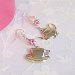 Tea time earrings...