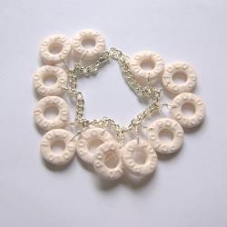 Polo charm bracelet